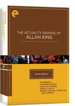 Eclipse Series 24: The Actuality Dramas of Allan King (DVD)