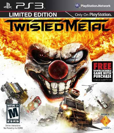 PS3 - Twisted Metal X - Sony Computer Entertainment