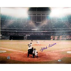 Steiner Sports Autographed Hank Aaron Photograph - Thumbnail 0