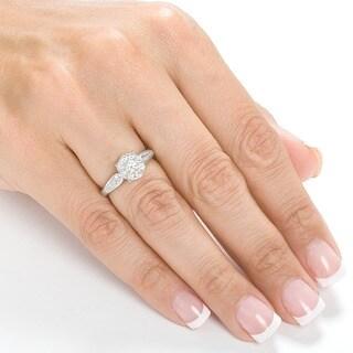 Annello by Kobelli 14k Gold 3/4ct TDW Diamond Engagement Ring (H-I, I1-I2)