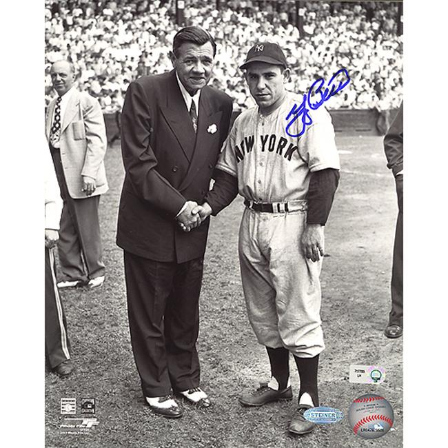 Steiner Sports Autographed Yogi Berra Photograph