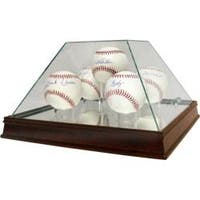 Steiner Sports Glass Pyramid 5-ball Baseball Case