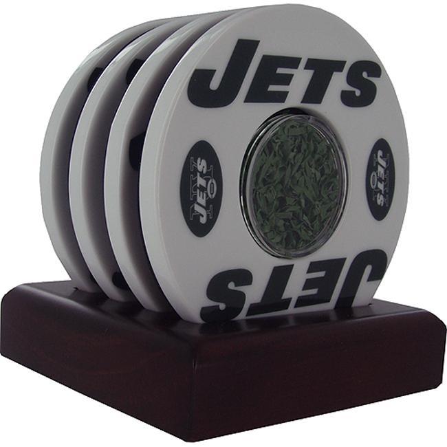 Steiner Sports NY Jets Logo Coasters
