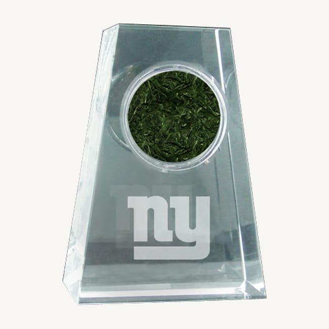 Steiner Sports New York Giants NFL Logo Crystal Paperweight