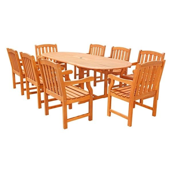 9 Piece English Garden Dining Set Free Shipping Today  : 9 Piece English Garden Dining Set 51bc823c aa6d 41db a366 9c9fb7440c9c600 from www.overstock.com size 600 x 600 jpeg 58kB
