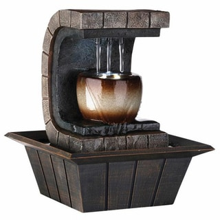 Ore International Earth-tone Meditation Fountain
