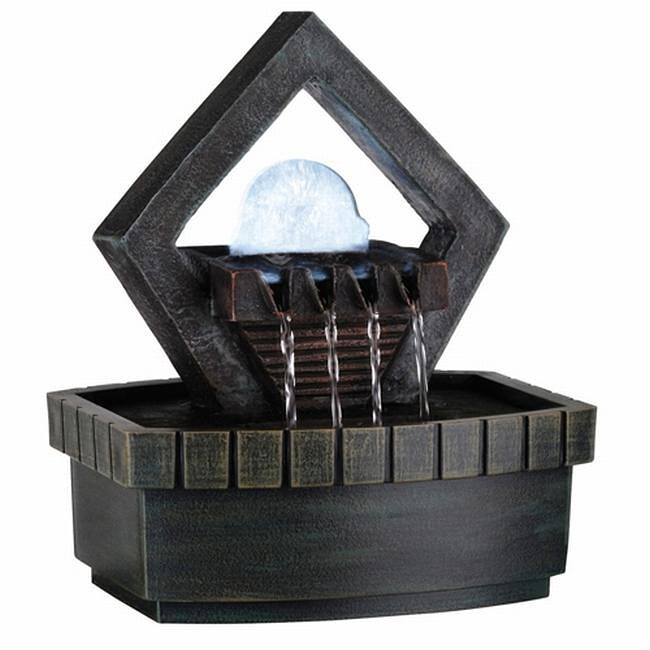 Ore International Green Indoor Meditation Fountain