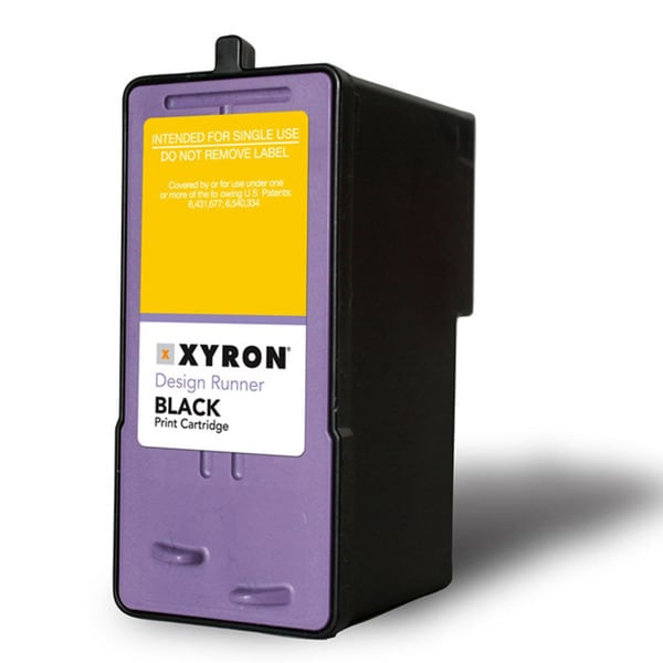 Xyron Black Ink Cartridge Refill for Xyron Design Runner