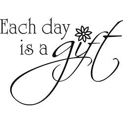 Design on Style 'Each Day is a Gift' Vinyl Wall Art Quote