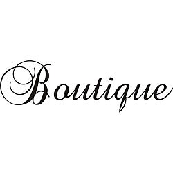 Design on Style 'Boutique' Vinyl Wall Art Quote