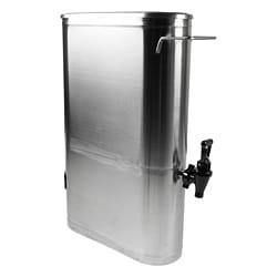 Narrow 3.5-gallon Stainless Steel Ice Tea/ Coffee Dispenser