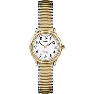 Timex Women's T2H381 Easy Reader Stainless Steel Expansion Bracelet Watch