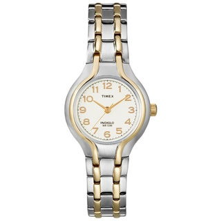 Timex Women's T27191 Elevated Classics Dress Sport Stainless Steel Bracelet Watch