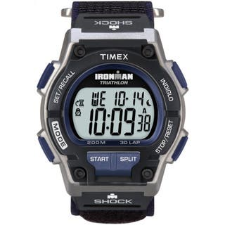 Timex Men's T5K198 Ironman Classic Shock 30-Lap Fast Wrap Strap Watch https://ak1.ostkcdn.com/images/products/5156958/P12998376.jpg?impolicy=medium