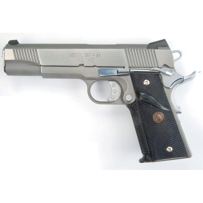 Pachmayr Colt 1911 Signature Checkered Grip with Thumb Swell
