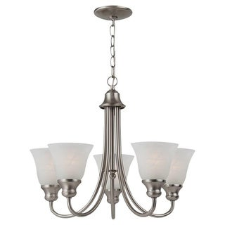 Windgate 5-light Brushed Nickel Chandelier