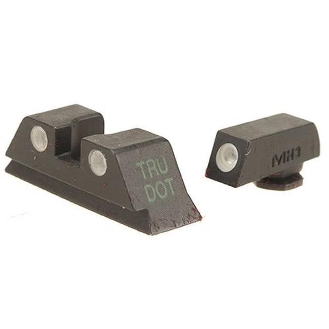Meprolight Tritium Night Sight Sets for Glock Pistols