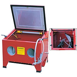 OEM Air Tool Benchtop Sandblaster Cabinet | Overstock com Shopping - The  Best Deals on Sandblast Cabinets