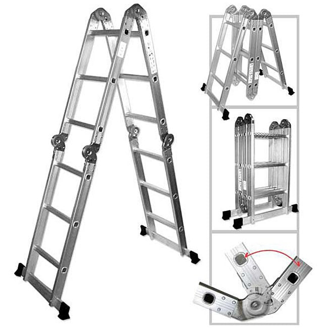 Oem Multipurpose Aluminum Folding Ladder Free Shipping