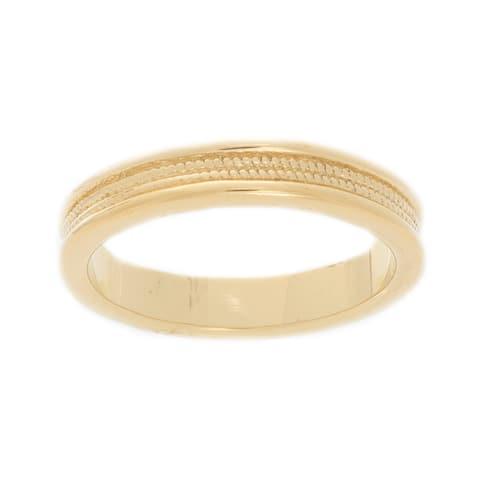 NEXTE Jewelry 14k Gold Overlay Men's Band