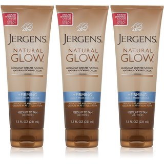 Jergens Natural Glow 22.5-ounce Daily Moisturizer Firming Medium to Tan (Pack of 3)