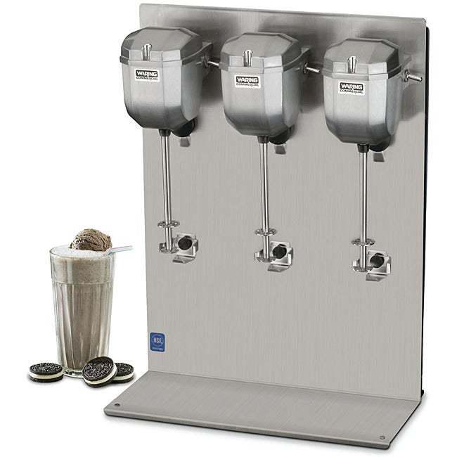 Waring DMC201DCA Triple-head Drink Mixer