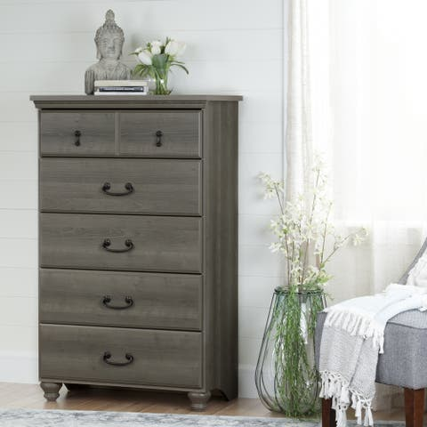 Copper Grove Riding Traditional Style 5-drawer Chest