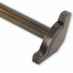 Brass Elegans Jefferson 48-inch Solid Brass Decorative Stair Rod Set
