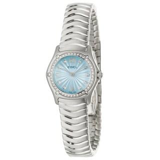 Ebel Classic Wave Women's Stainless-Steel Quartz Diamond Wrist Watch