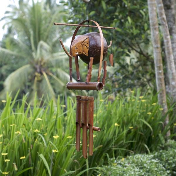 Bamboo 'Elephant' Wind Chime (Indonesia)