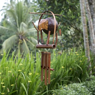 Bamboo 'Elephant' Wind Chime (Indonesia)