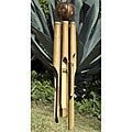 Bamboo 'Natural X-large' Wind Chime (Indonesia)