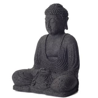 Garden Buddha Sculpture (Indonesia)|https://ak1.ostkcdn.com/images/products/5158826/Garden-Buddha-Sculpture-Indonesia-P12999730.jpg?impolicy=medium
