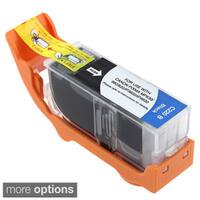 Refilled Insten Black Non-OEM Ink Cartridge Replacement for Canon PGI-220Bk/ 220 BK