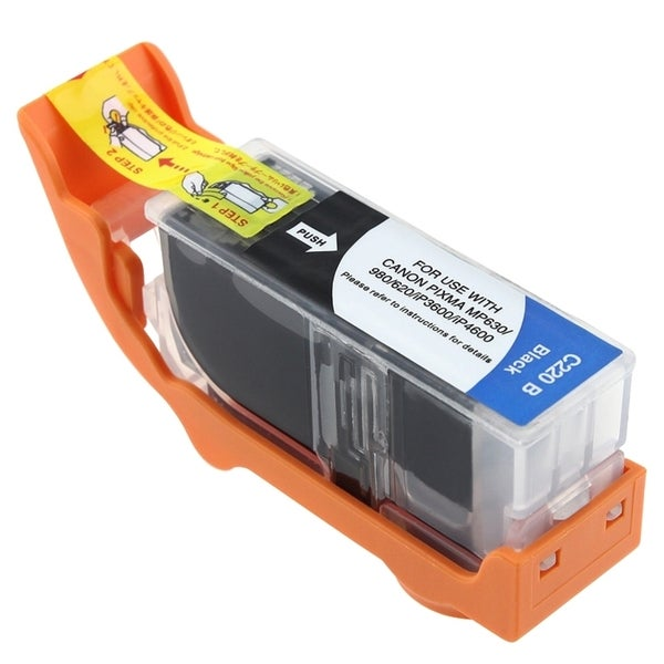 Insten PGI-220BK Black Ink Cartridge for Canon PIXMA iP3600/ iP4600/ MP620/ MP980
