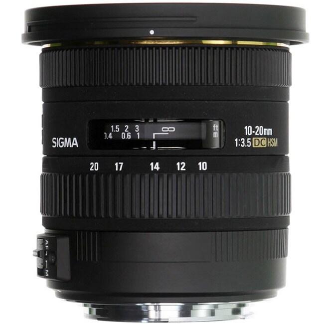 Sigma 10-20mm F3.5 EX DC HSM Canon Lens