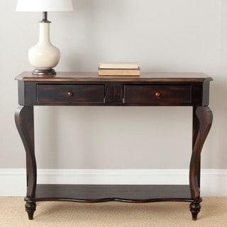 Safavieh Katie Dark Brown Wood Console Table