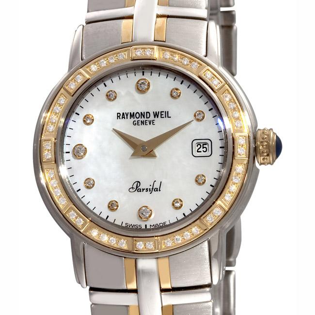 Raymond Weil Women's 9440-STS-97081 Parsifal Diamond Watch