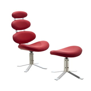 Spinal Chair and Ottoman Set