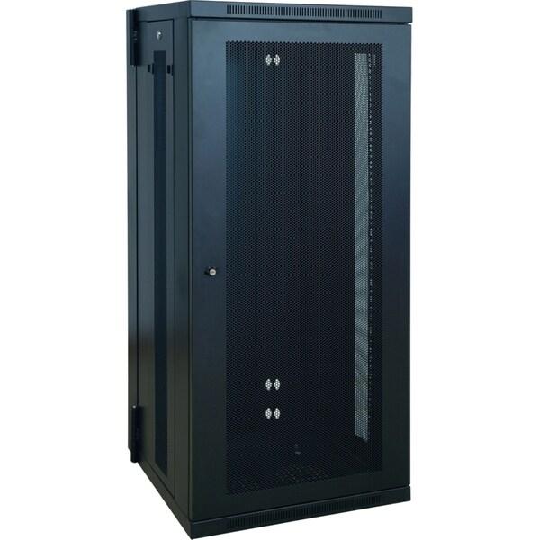 Tripp Lite 26U Wall Mount Rack Enclosure Server Cabinet Hinged w/ Doo