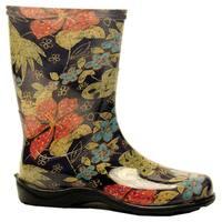 Sloggers  Rain and Garden Boots  Women's  Size 10  Midsummer Black