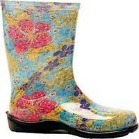 Sloggers  Rain and Garden Shoe  Women's  Size 10  Midsummer Blue