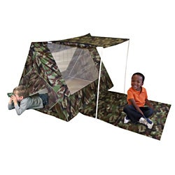 Kids Adventure Camo Fort Set - Thumbnail 0