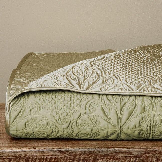 Luxe Versailles Loire Iridescent Silk Full Queen Size