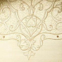 Luxe Versailles 'Loire' Iridescent Silk Full / Queen-size Quilt