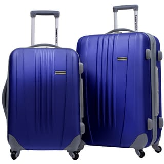 Traveler's Choice Toronto 2-piece Hardside Expandable Checked/Carry On Luggage Set