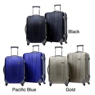 Traveler's Choice Toronto 2-piece Hardside Expandable Checked/Carry On Luggage Set