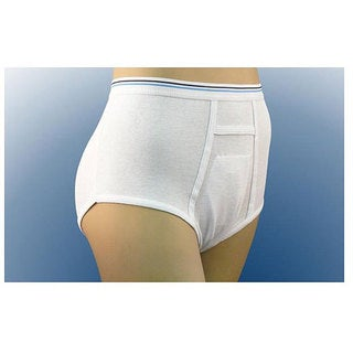 Inspire Premium Cotton Protective Disposable Liner Briefs (Pack of 5)