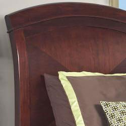 Brighton Low Profile Twin Sleigh Bed - Thumbnail 1