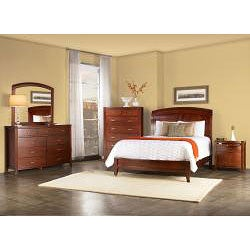 Brighton Low Profile Twin Sleigh Bed - Thumbnail 2